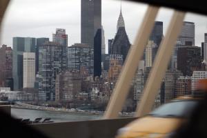 ニューヨークの建築群
