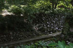 球磨村の石垣